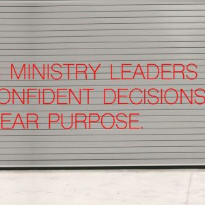 Seth Muse, The Seminary of Hard Knocks, ministry leaders confident decisions with clear purpose