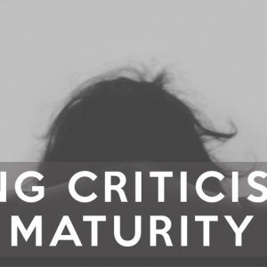 taking criticism with maturity seth muse the seminary of hard knocks