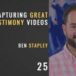 capturing great testimony videos with ben stapley, the seminary of hard knocks podcast with seth muse