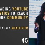 Reading youtube analytics to reach your community with lauren mcallister, the seminary of hard knocks podcast with seth muse