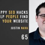 snappy seo hacks that help people find your website with justin nava, the seminary of hard knocks podcast with seth muse, episode 65
