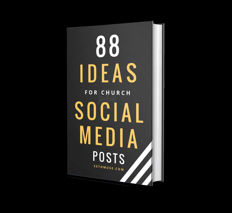 88 ideas for church social media posts, seth muse