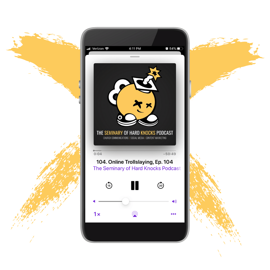 the seminary of hard knocks podcast with seth muse and meagan ranson, church communications